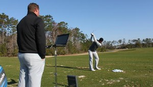 trackman used at golf camp