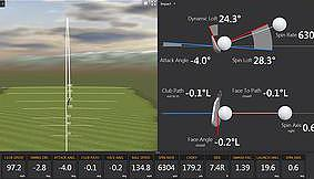 golf camp trackman technology